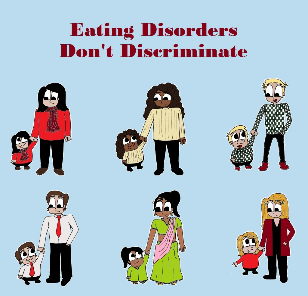 Eating Disorders Don't Discriminate